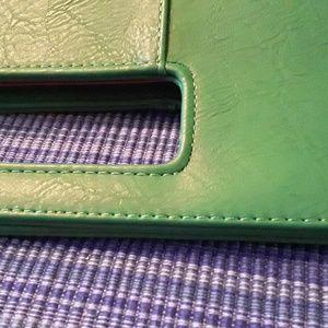 Charming Charlies Bags - Charming Charlies Bright Lime green clutch